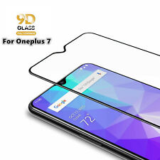 For OnePlus 7 Full Screen Protector Tempered Glass Guard Shield Film Cover 9D 9H