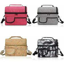Insulated Lunch Bag 8L Leakproof Lunch Bag for Adults Kids Camping Travel Box