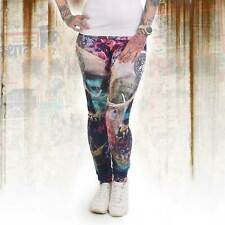 Camouflage Pink Neue Yakuza Damen Military Lady Leggings