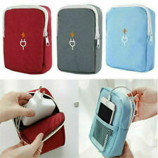 Waterproof Travel Electronic Accessories Storage Bag Charger USB Cable Organizer