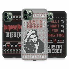 OFFICIAL JUSTIN BIEBER KNITTED CHRISTMAS CASE FOR APPLE iPHONE PHONES