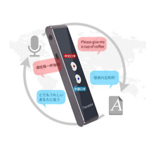 Smart Speech  Voice Translator Portable Two-Way Real Time Multi-Language  T8