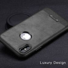 Leather Luxury Case Soft TPU Ultra Slim Cover For iPhone 6 7 8 Plus X Xr Xs Max
