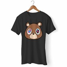 NEW KANYE WEST DROPOUT BEAR WOMAN'S AND MAN'S TEE T-SHIRT USA SIZE S-3XL FQ1