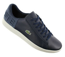 Lacoste Carnaby Evo 118 2 Leather Chaussures Hommes Sneaker Navy 7-35spm0005-nt9