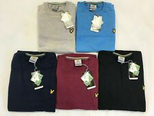 LYLE AND SCOTT LONG SLEEVE CREW NECK & V -NECK JUMPER FOR MEN, S-XXL. 6 Colours.