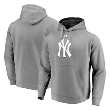 New York Yankees Under Armour Commitment Team Mark Performance Pullover Hoodie -