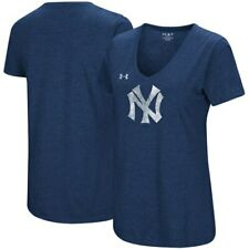 New York Yankees Under Armour Women's Cooperstown Collection Logo Performance