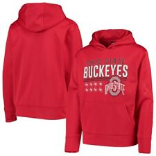 Ohio State Buckeyes Youth Foundation Team DNA Pullover Hoodie - Scarlet
