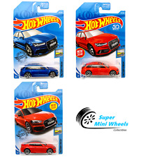 2019 Hot Wheels '17 Audi RS 6 Avant (Blue/Red)  Audi RS 5 Coupe (Red)