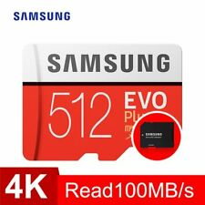SAMSUNG Memory Card micro sd 64GB 128GB 256GB 512GB EVO Plus Class10 Waterproof
