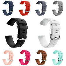 Cool Silicone Replacement Watch Bands Wrist Strap For Fitbit Charge 3 Core