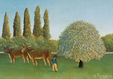 3584 Fine Art Print//Poster Henri Rousseau The Monument to Chopin