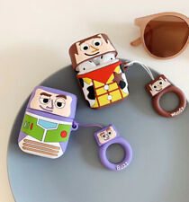 Buzz Lightyear Wireless Bluetooth Earphone Case charging For Apple AirPods 1/2