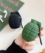 Grenade soft Wireless Bluetooth Earphone Case charging box For Apple Airpods 1/2