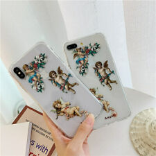 Fashion Angel Transparent Phone Case Cover For iPhone11Pro MAX XR XS MAX