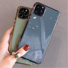 Fashion Color Simple iPhone Case Cover For iPhoneX XS XR XSMax 11 Pro Max Cover