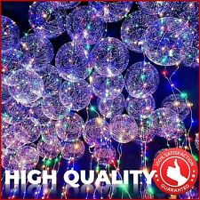 4X LED Light Up Balloon Colorful Luminous Birthday Wedding Event Party Decor