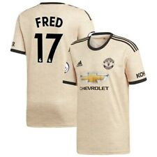 Fred Manchester United adidas 2019/20 Away Replica Player Jersey - Tan