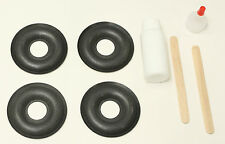 4 -Foam Donut Dust Cap Kit for KEF 103/4 104/2 104/4 105/3 107/2