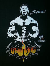 BATISTA T SHIRT David WWE WWF OVW Professional Wrestler Wrestling FREE USA SHIP