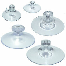 Pkt of 4 SIDE PILOT HOLE Suction Cups 22mm 25mm 45mm 46mm or 56mm or 1 of each
