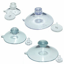 Pkt of 4 THUMB TACK Suction Cups 20mm 35mm 48mm or 50 mm or 1 of each each size