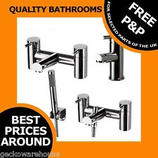 Dalton Modern, Single Lever, Mixer Tap Bathroom Bath Chrome Taps Shower Filler