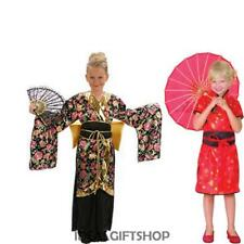 CHINA GIRL GEISHA CHILD COSTUME JAPANESE CHINESE FANCY DRESS ORIENTAL BOOK WEEK