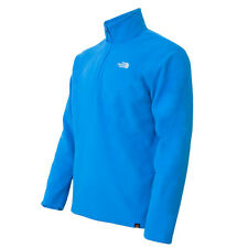 THE NORTH FACE M TKA 100 GLACIER 1/4 ZIP FLEECE PULLOVER BLAU T0APTBM24