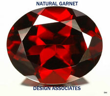 7X5 MM OVAL RED GARNET 20 PC VALUE PACKAGE $9.99