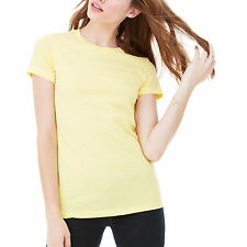 Ladies Bella Canvas 100% Cotton Combed RingSpun Long T-shirt Womens Favorite Tee