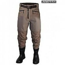 SCIERRA CC3 XP WAIST WADERS WITH BOOT FOOT! ALL SIZES