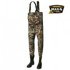 Prologic XPO Max 4 Neoprene Waders  CLEATED SOLES ALL SIZES ! fishing shooting