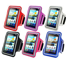 PU Leather Gym Running Jogging Sport Armband Cover Fits Samsung Galaxy S2 I9100