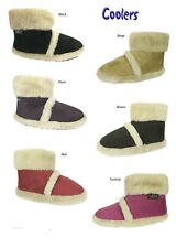 LADIES  COOLERS BOOTS / SLIPPERS / FURRY ANKLE BOOTS SHOES  FREE POST