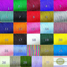 25 Metros de Hilo 1mm Para Pulseras Macrame  M810E  A Escoger thread filetto Fil
