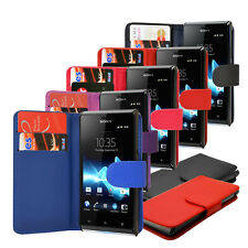 Leather Flip Wallet Case Cover For Huawei Ascend G510 T8951 U8951   Free Screen