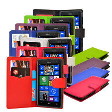 6 Colour PU Leather Flip Wallet Book Phone Case Cover For Nokia Lumia 625