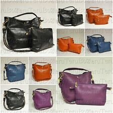 Ladies Bucket Handbag Shoulder Bag Tote Shopper Hobo Bag Messenger Shoulder Bag