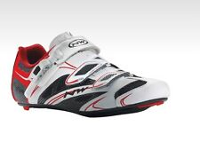 Scarpe NORTHWAVE CORSA Mod.SONIC SRS White/Red/SHOES NORTHWAVE SONIC WHITE