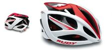 Casco da bici RUDY PROJECT Mod.AIRSTORM White/Red Shiny/HELMET RUDY PROJECT AIRM