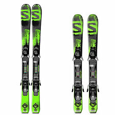 Salomon Q Max Junior Ski Set + Easytrak Bindung - Kinder Skiset Rocker Skier NEU
