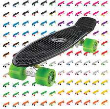 "Ridge 22"" Mini Cruiser Skate Completo 55cm Original de 55cm Skateboard"