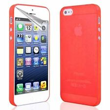 For Apple iPhone Ultra Thin Frosted 0.3MM Shell Case Cover + Screen Protector