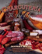 Charcuteria: The Soul of Spain by Jeffrey Weiss Hardcover Book (English)