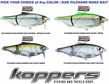 Koppers Live Target Sardine Pilchard Wake Bait Saltwater Lure Any SSW Color Size