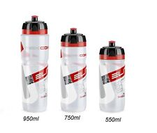 Borraccia Elite MAXI/SUPER/CORSA MTB CLEAR LOGO RED/WATER BOTTLE ELITE