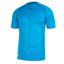 UNDER ARMOUR HEATGEAR SONIC COMPRESSION SHORT SLEEVE SHIRT ELB BLACK 1236224-428