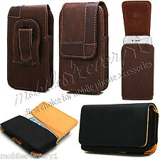 Belt Clip Leather Pouch Case Fits Apple iPhone 3 3G iPod Touch 5 5th Gen Touch 4